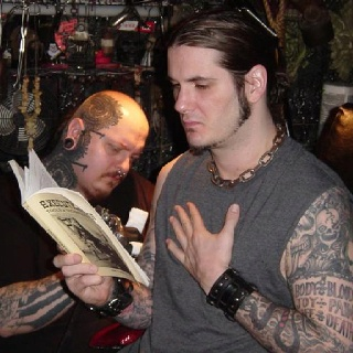Phil Anselmo @ Last Rites NYC OMG Paul booth is amazing