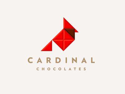 Cardinal Chocolates pt. II by J Fletcher Design. Too damn clever.