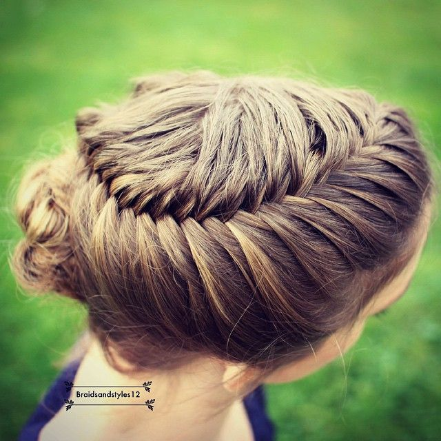 53 best updo hairstyle images on pinterest beauty stuff black a pretty holiday updo hairstyle christmas updo hairstyles christmas idea a frenchfishtail braid pmusecretfo Images