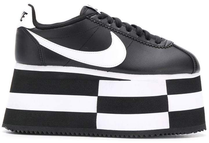 100% authentic 64e84 61d4b Comme des Garcons x Nike platform sneakers | Products in ...