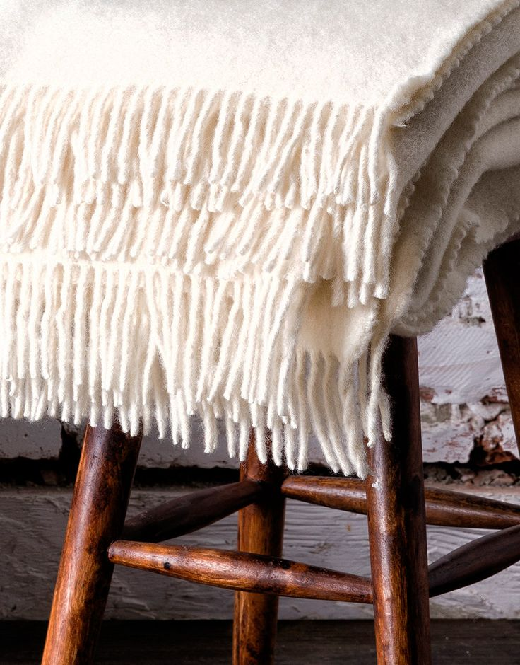 Welcome simple and contemporary design to any interior with the Winter Garden Blanket.