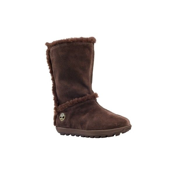 Timberland - Women's Mukluk Pull-On Boot (155 NZD) ❤ liked on Polyvore featuring shoes, boots, timberland shoes, slip on boots, mukluk shoes, timberland mukluk and pull on shoes