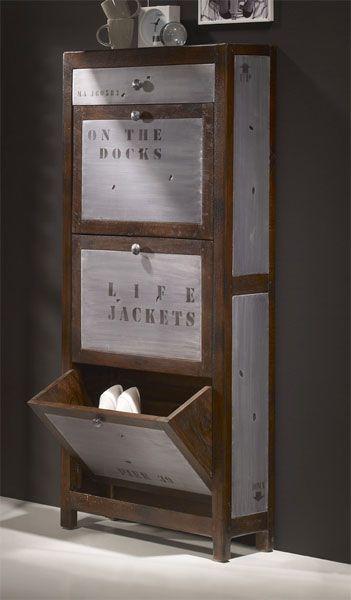 Las 25 mejores ideas sobre mueble zapatero en pinterest y for Hacer mueble zapatero