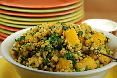 Tops Friendly Markets - Recipe: Barley Risotto with Butternut Squash and Kale