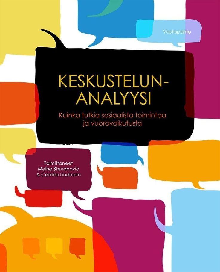 Kuvaus: Perusteos keskustelunanalyysista.  Keskustelunanalyysi tarkastelee sosiaalisen vuorovaikutuksen perusilmiöitä, resursseja ja haasteita. Se luotaa keskustelunanalyysin metodologiaa ja keskittyy erityisesti viime vuosina kehittyneisiin uusiin suuntauksiin.