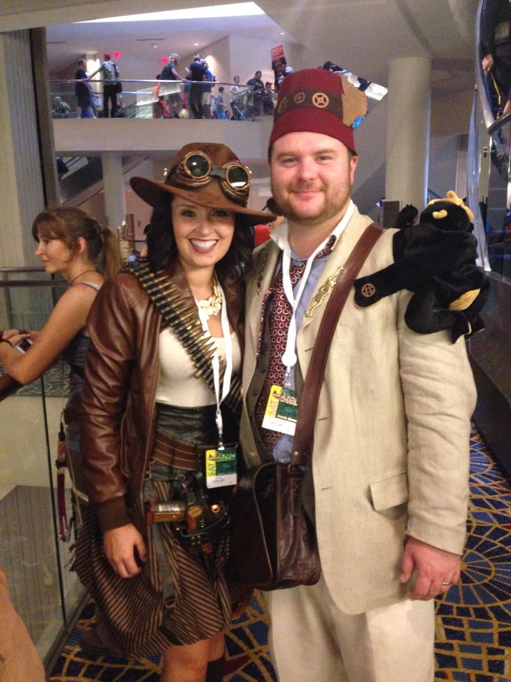 Gender Bent Steampunk Indiana Jones