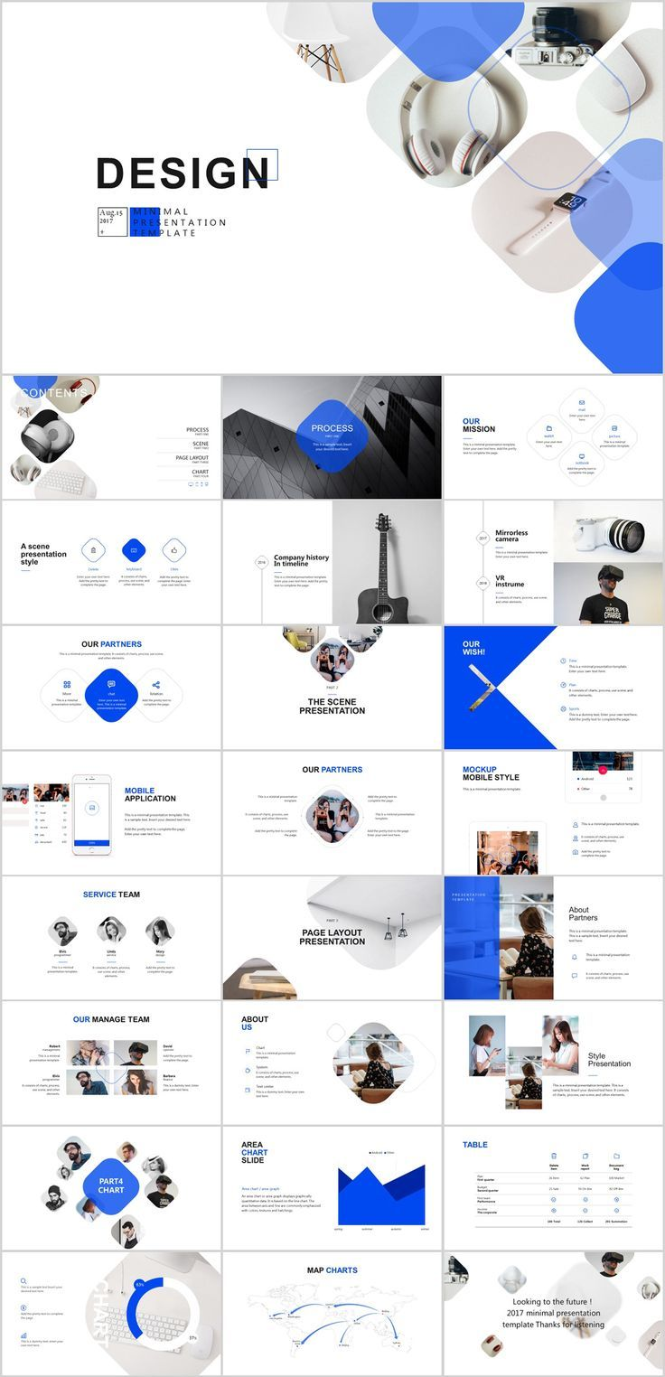 25 company introduction timeline powerpoint template on behance