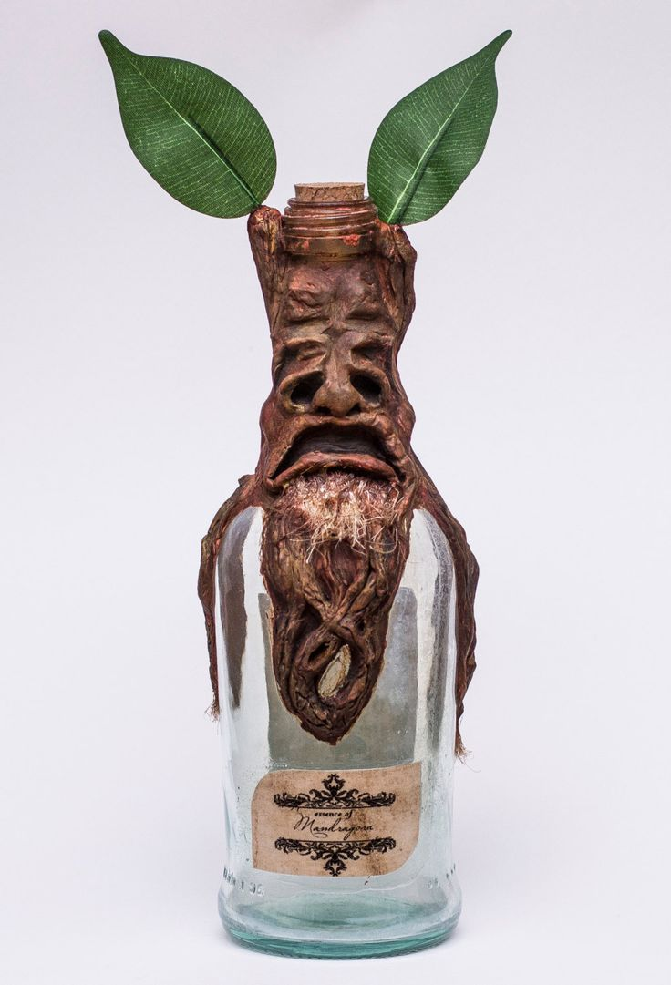 Harry Potter Mandrake essence  collection bottle di MaknaeRebellion su Etsy