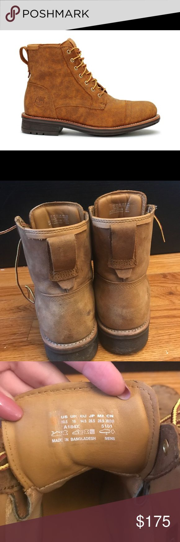 Mens Willoughby Wheat Waterproof A184x boots Timberland Mens BOOTS Willoughby 6 Inch Wheat Brown suade waterproof A184x They're brand new tried to wear them once and they were a size too small on me so I had to get bigger ones and couldn't return these Timberland Shoes Boots