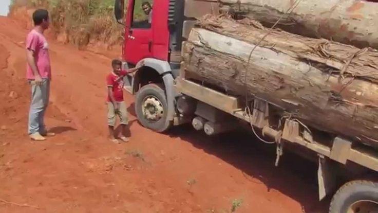 Caminhao: Vida Difícil De Madeireiro -  Longe De Casa Dos Caminhoneiros