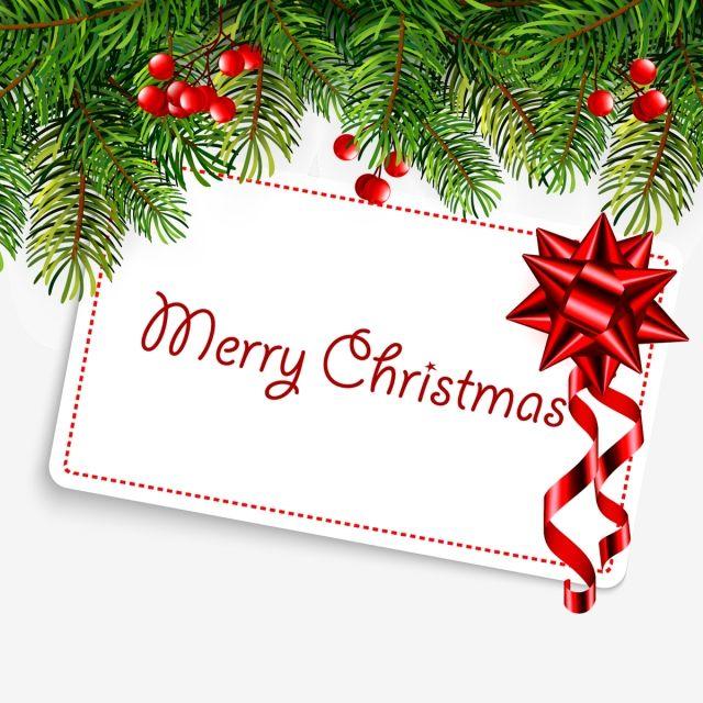 현실적인 전나무와 크리스마스 일러스트입니다 벡터 일러스트 레이 션 크리스마스 메리 크리스마스 전통 장식