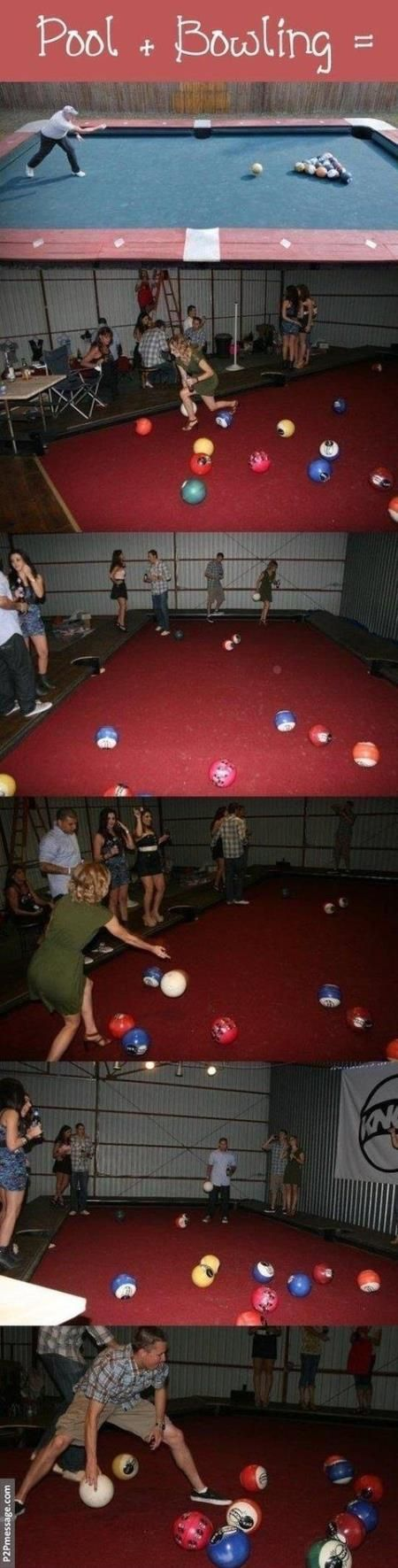 Pool and bowing combined is awesome. Click to see more and comment...