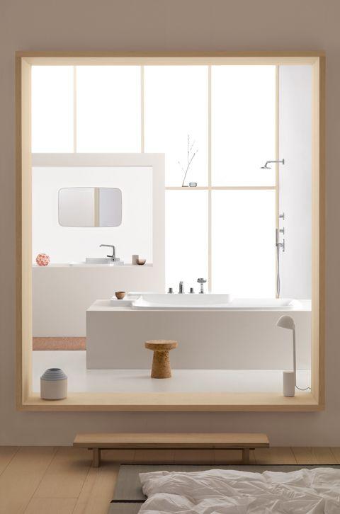 "Bathroom series ""Bouroullec"" for Axor Hansgrohe, 2010, photo © Paul Tahon, Erwan and Ronan Bouroullec"
