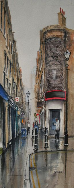 Artillery Passage, Spitalfields, London. by peter french £175