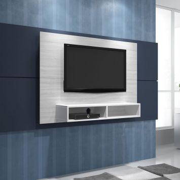 Rack com Painel para TV RP 06-104 Decape & Branco BRV Móveis