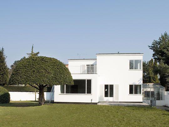 Arne Jacobsen's House, Arne Jacobsen, 1931, Denmark