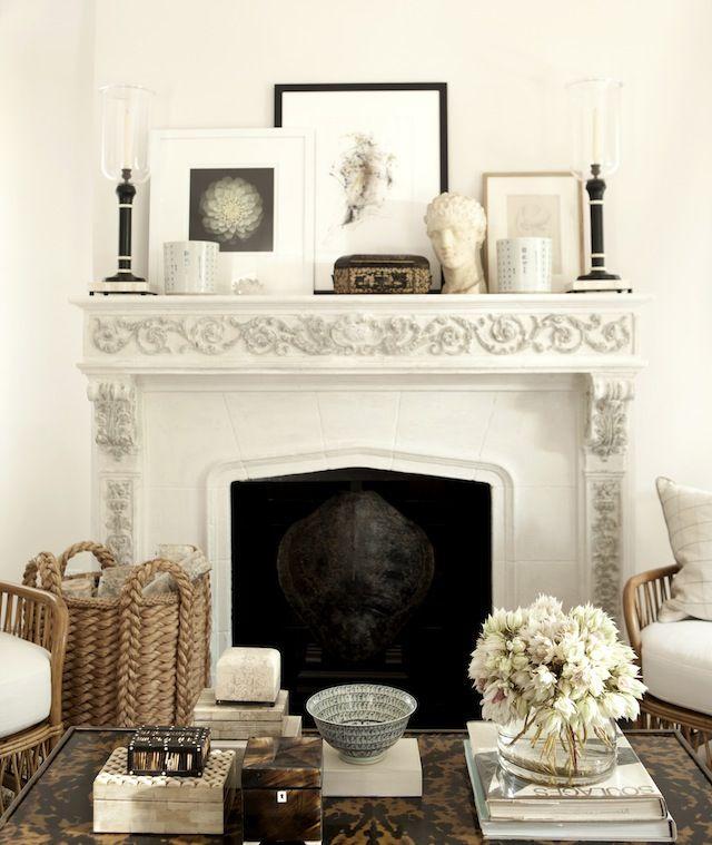 52 best Mantel Decorating images on Pinterest   Home ideas, Cozy ...