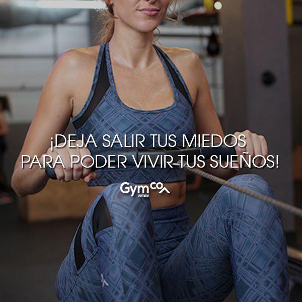 ¡Vive tus sueños con intensidad! :) #gymco #hechoenmexico #soygymcowomen #soymcoeveryday #sueños #miedos #tips #frases #frasesmotivacionales #frasespositivas #esfuerzo #motivacion