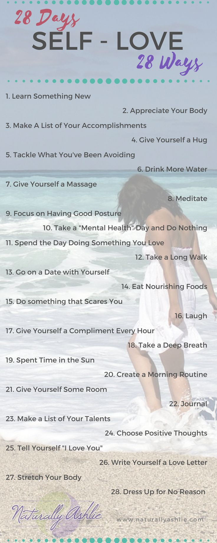 [FREE CHALLENGE] 28 Ways to practice self-love and a free 5 day challenge