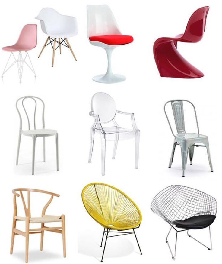 Si quieres saber cu les son las 9 sillas m s famosas en el for Silla diseno famosas