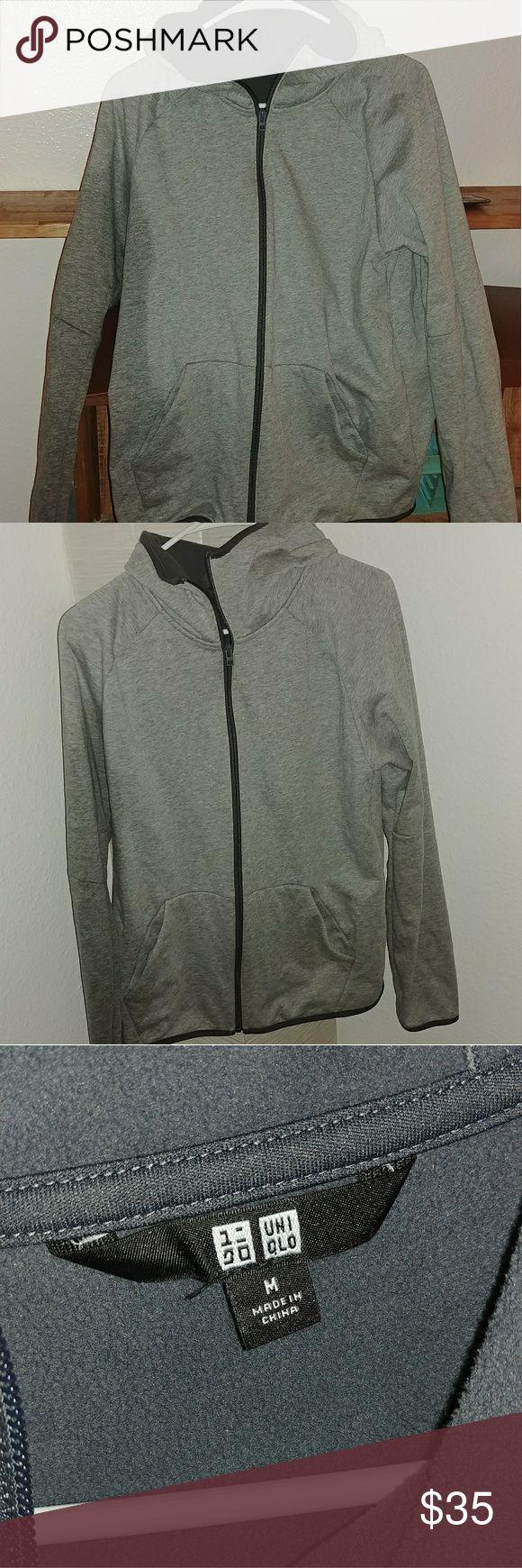 Uniqlo Mens Jacket Size M Great condition, lightweight jacket, fleece lined, comfy Uniqlo Jackets & Coats Lightweight & Shirt Jackets
