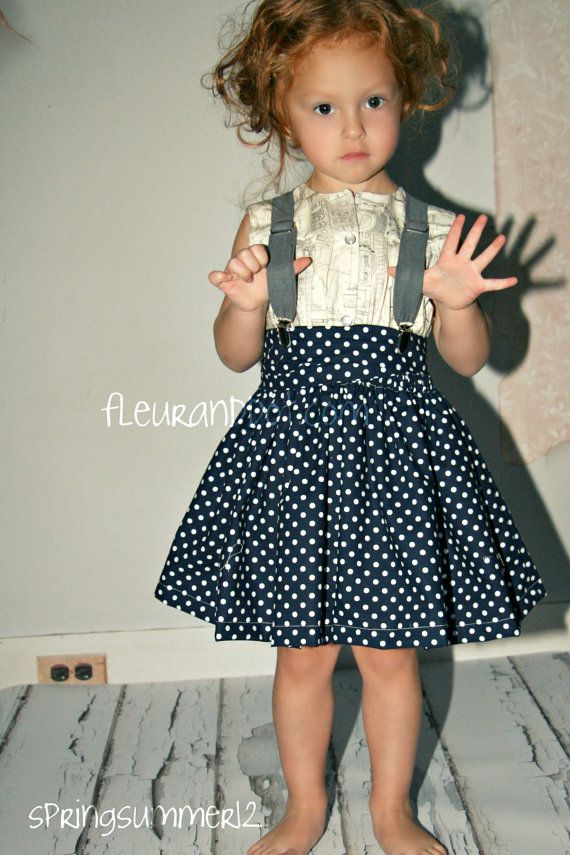 Cape Skirt by FleurandDot: Full Skirts, Polka Dot Skirts, Fashion Clothing, Polka Dots Skirts, Kids Fashion, Spring Summer, Children Clothing, Kids Clothing, Girls Children