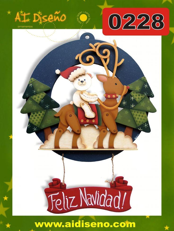 Coronas de Navidad | maderacountry.mx