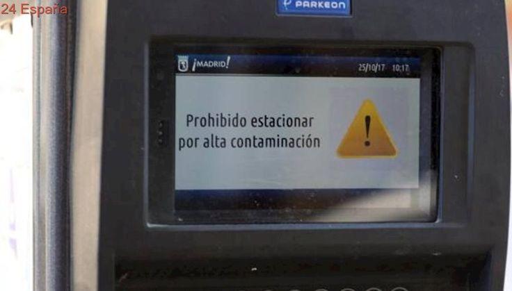 Prohibido aparcar mañana en el centro de Madrid por la alta contaminación