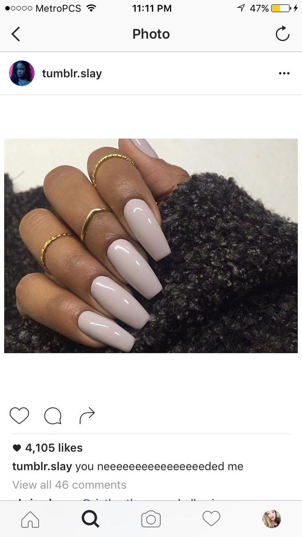 37 besten Acrylic nails Bilder auf Pinterest | Acrylnägel, Lange ...