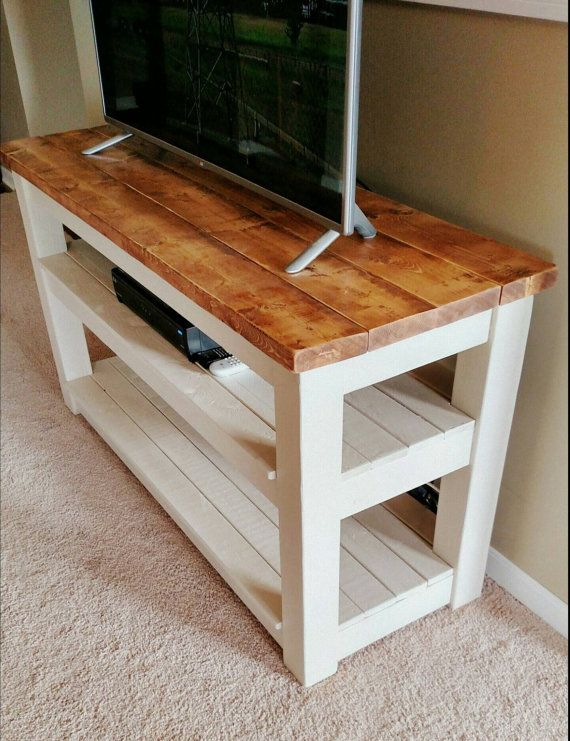 25 best ideas about rustic tv stands on pinterest small. Black Bedroom Furniture Sets. Home Design Ideas