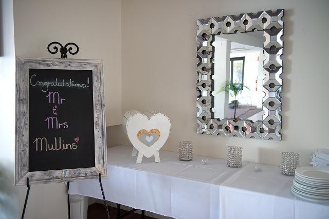 #wedding #wishingwell #chalkboard #frame #mirror #weddingreception