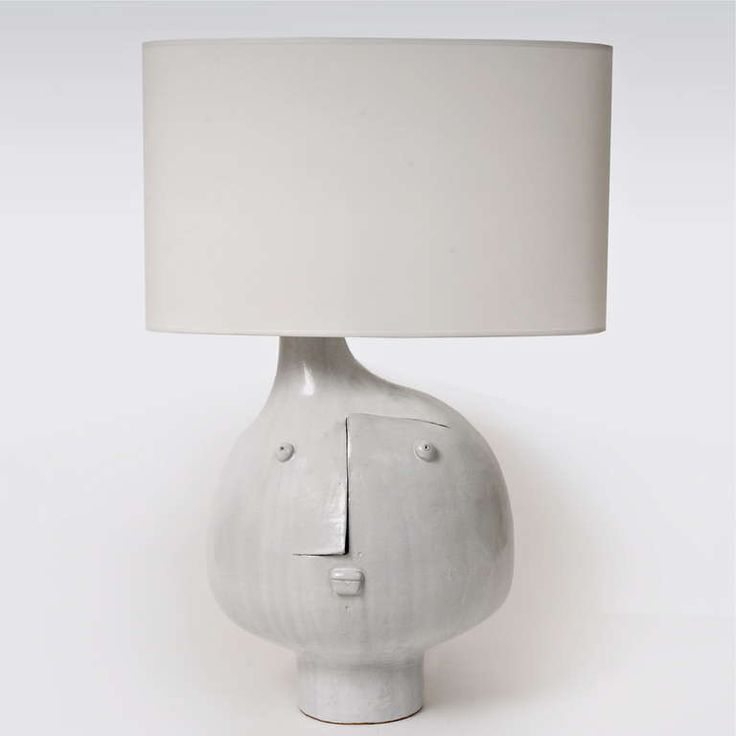 Important Ceramic Table Lamp by DaLo | From a unique collection of antique and modern table lamps at http://www.1stdibs.com/furniture/lighting/table-lamps/
