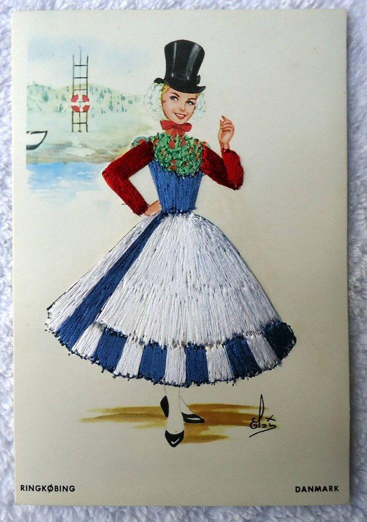 Ringkøbing traditional costume