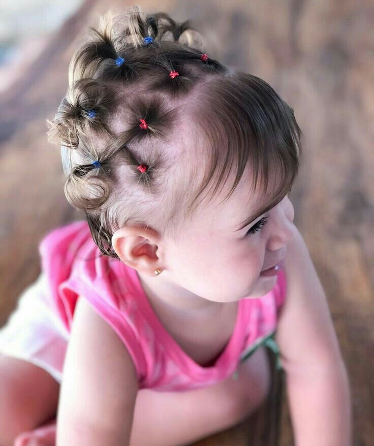 Explicación peinados bebe niña Imagen de tutoriales de color de pelo - Pin de Ruth en Penteados de bebê menina   Peinados cabello ...