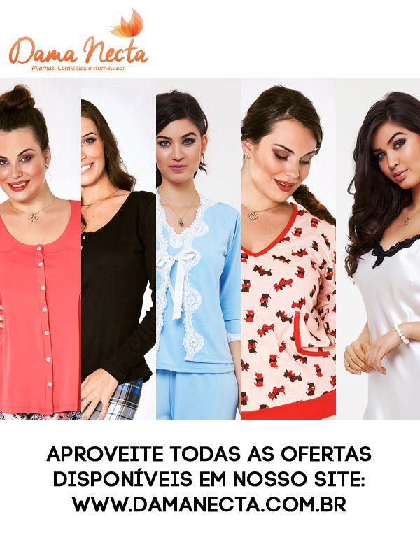 Dama Necta Pijama Camisolas e Homewear