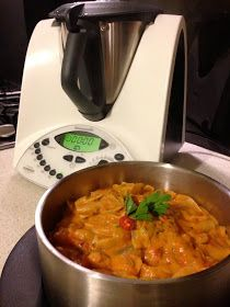 Simply Thermomix Blog: Creamy Vegetarian Pasta- One Bowl Thermomix