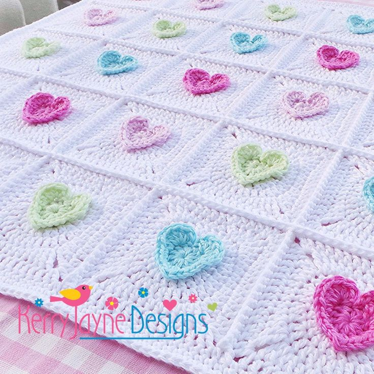 All Heart Blanket Crochet Pattern