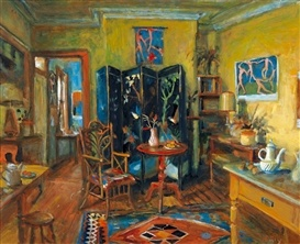 Australian artist and goddess of fruit and flowers Margaret Olley - her home was her studio