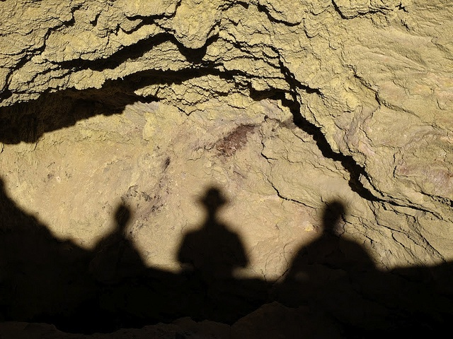 Shadow play in New Zealand. Photo courtesy of Dr. Benjamin Ross.