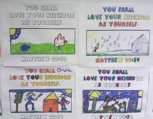 love your neighbor craft ideas quot your quot coloring page activity matthew 22 39 6897