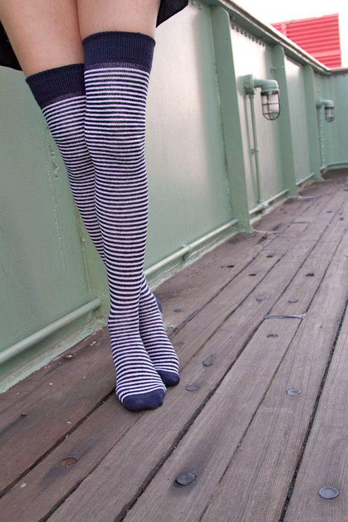 Extraordinary Marine Stripes (Blue/White Stripe)