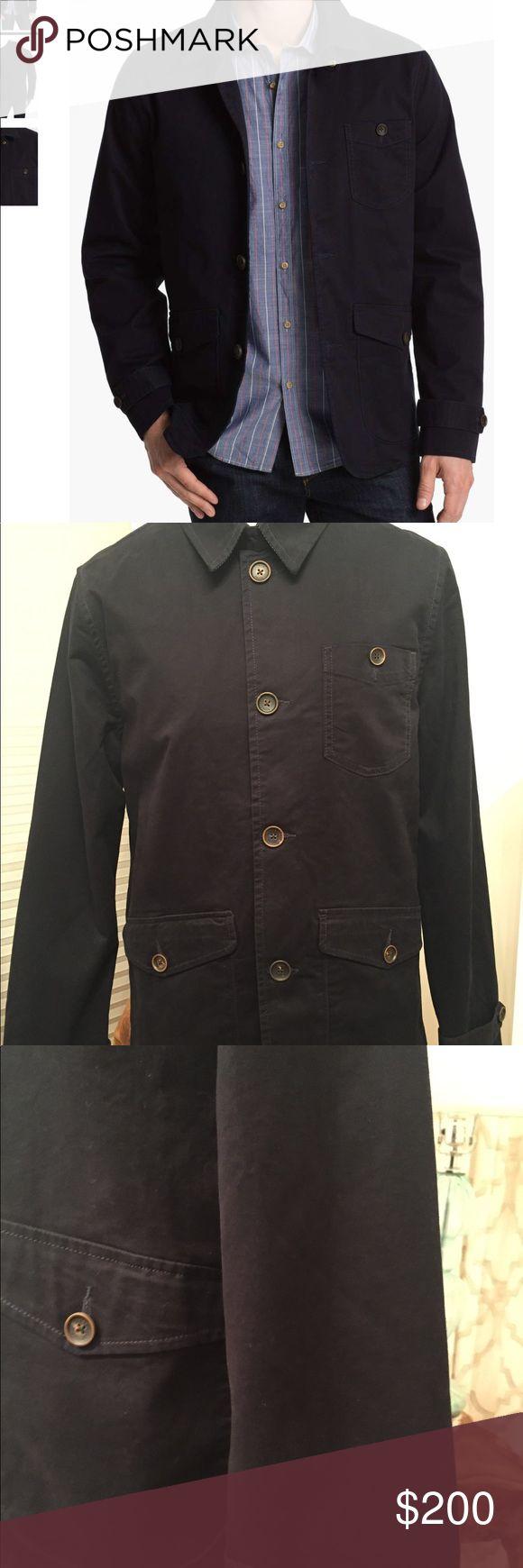Men's Ted Baker Mclagen Jacket NWOT in new condition Men's Sportswear Ted Baker London Blue Jacket UK Size 4 US Conversion Size 40 Photo: Nordstrom.com Ted Baker London Jackets & Coats