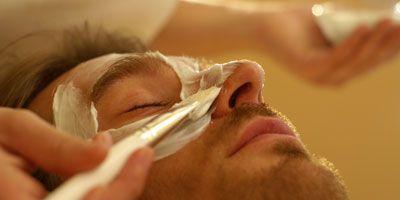 DIY FACIAL mask for MEN