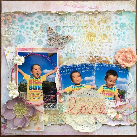 (08-010)kaoriさんの作品。大きい画像をクリックすると、kaoriさんのブログ記事を表示します。