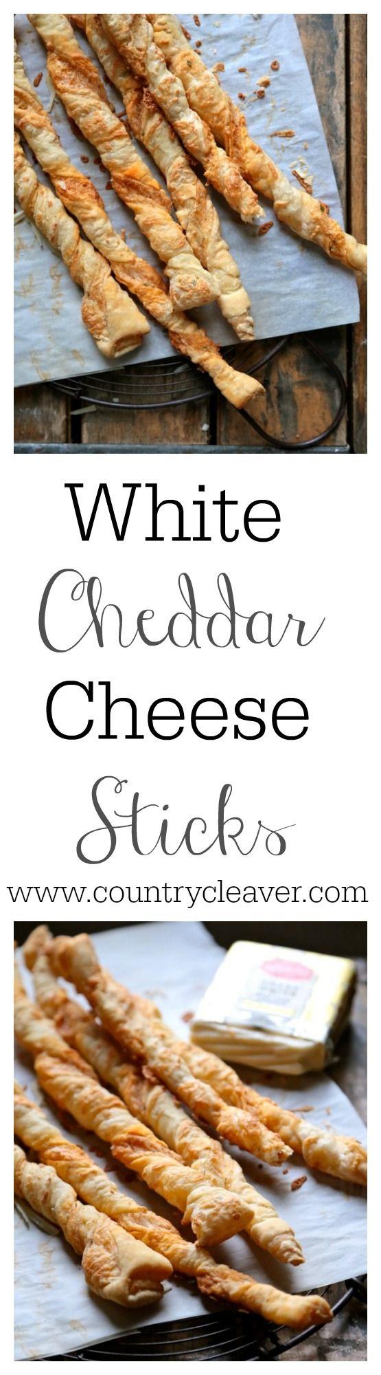 White Cheddar Cheese Sticks