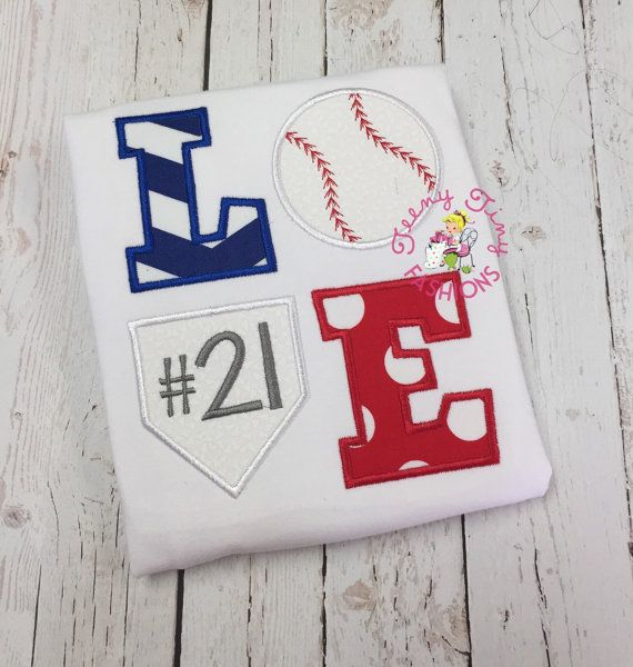 Baseball shirt  Sister Baseball Shirt  LOVE by TeenyTinyFashions