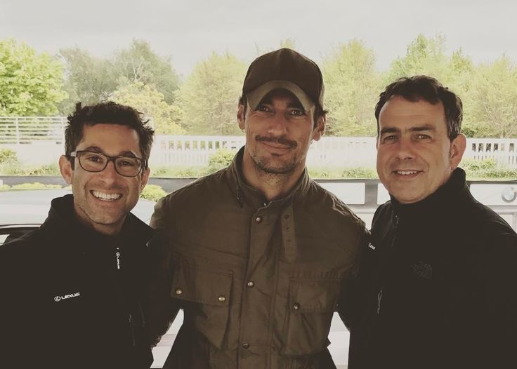David Gandy at Goodwood Circuit