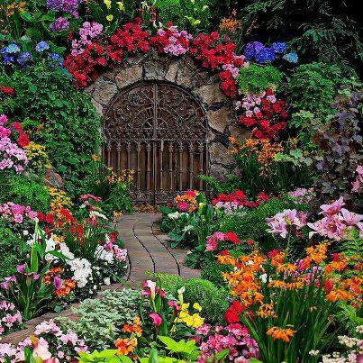 327 best gardens images on pinterest tropical gardens landscaping flower garden and gate mightylinksfo