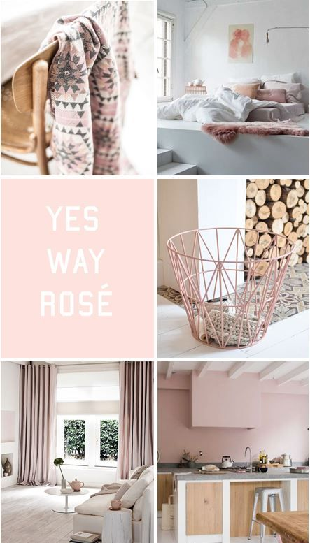 moodboard - soft pink decor