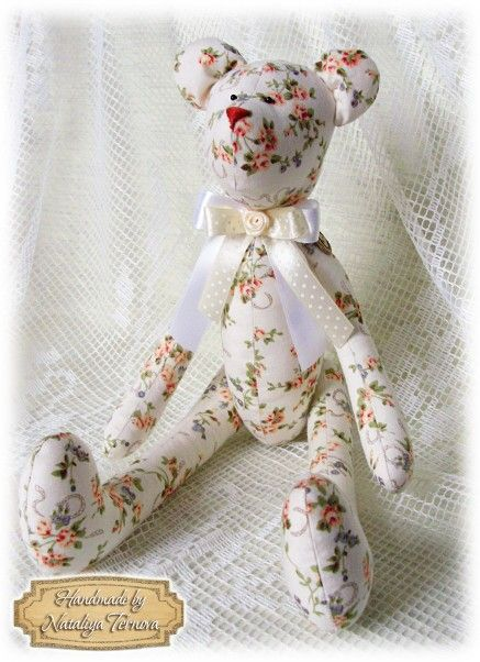 Мишка handmade by Ternova Nata